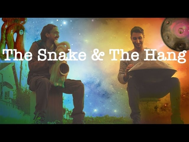 Aborigiman Guy Shiny - Snake Didg Hang drum