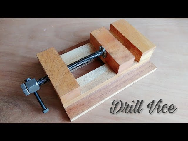 Making A Drill Press Vice How To Make Wooden Vice