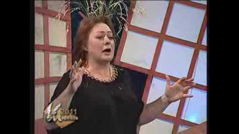 Маркиза Мария Аронова читает стихотворение Александра Блока Девушка пела в це