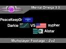Mental Omega 3 3 1 Multiplayer 71 Alstar sypher vs Darkie PeaceKeep0r