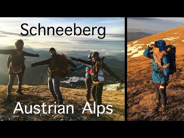 Austrian Alps The Mountains Are Calling Schneeberg 2076m
