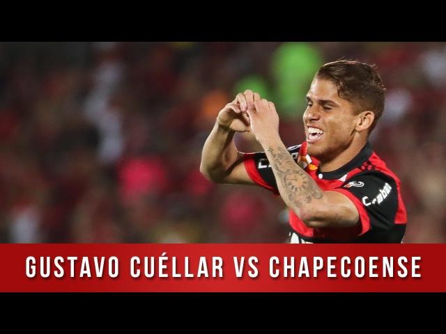 Gustavo Cuéllar vs Chapecoense - Copa Sul-Americana