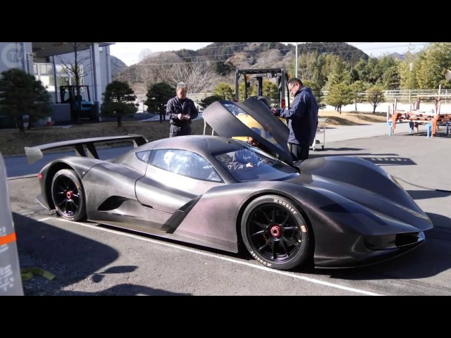 CRAZY FAST!! Japanese ASPARK OWL ELECTRIC HYPERCAR DOES 0-60MPH IN 1.9 SECONDS