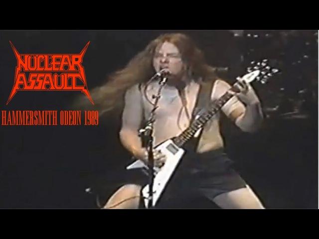 Nuclear Assault - Hammersmith Odeon 1989 Full Concert