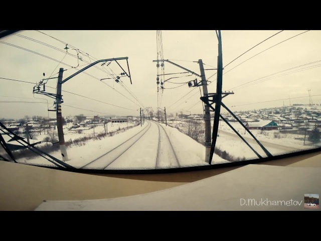 Winter Railway. 2ЭС10 Гранит (Часть 2)