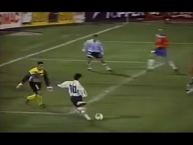 Partidazo del Burrito Ortega vs Chile (1997)