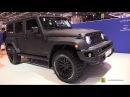 2017 Chelsea Truck Co Black Hawk Jeep Wrangler - Walkaround - 2018 Geneva Motor Show
