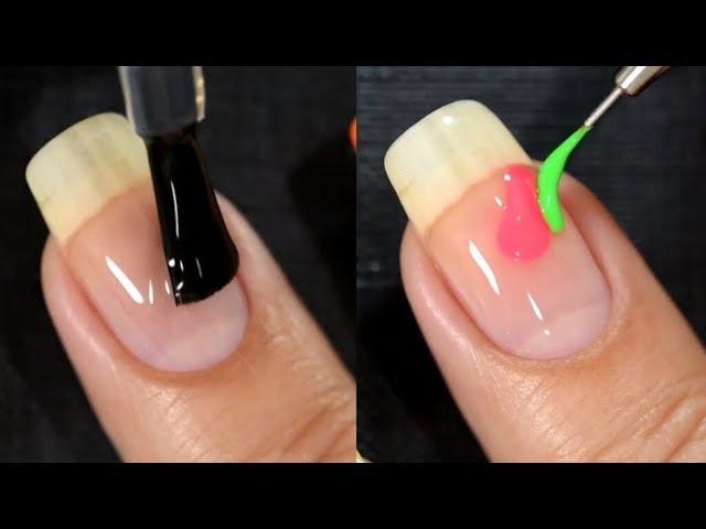 25 идеи маникюра дизайн ногтей видео обучения за 10 минут смотреть онлайн без регистрации