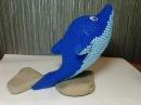 Дельфин, ч.2. Dolphin, р.2. Amigurumi. Crochet.