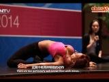 Didem Kınalı Teaching Belly Dance