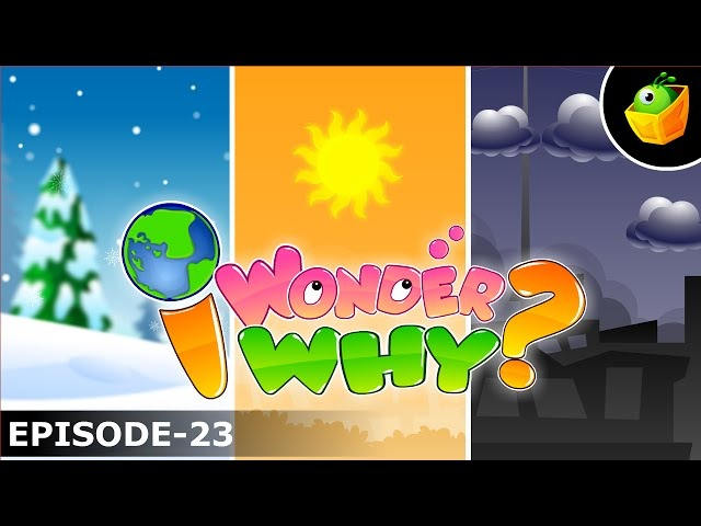 Why Do We Have Seasons? - I Wonder Why - Amazing Interesting Fun Facts Video For Kids