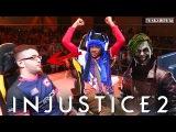 INJUSTICE 2 PRO SERIES SONICFOX USES JOKER VS FOREVER KING BATMAN