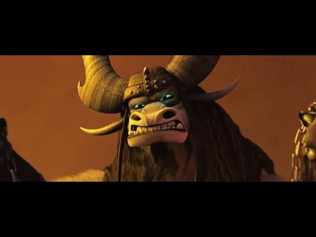 3 Кай против Война Дракона ( Кунг - фу панда 3)
