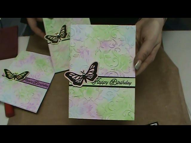 130 Gelatos, Color Me Cards, Embossing Folders Big Shot Plus Machine by Scrapbooking Made Simple