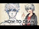 【HOW TO DRAW】 Male Manga Character