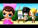 У куклы лол сюрприз беда – Ваня нарисовал другую девочку! Мультик с игрушками ло...