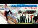 La Femme Mystère, America Tour, october 2017 sept titres live 26 mn interview 9 mn.