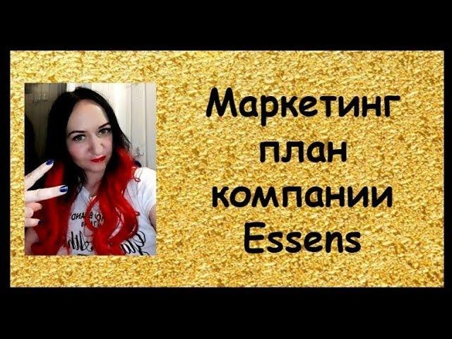 Маркетинг план компании Essens