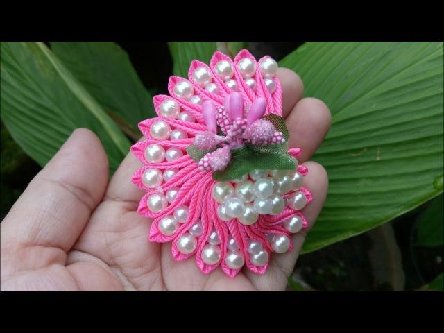 103) DIY - Tutorial || How to Make Pearly Snail || Cara Membuat Bros Keong Mutiara