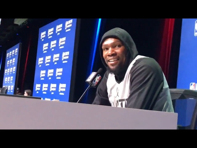 """Kevin Durant's Response to the Durant-Westbrook Drama: """"I think I f**ked that up"""""""