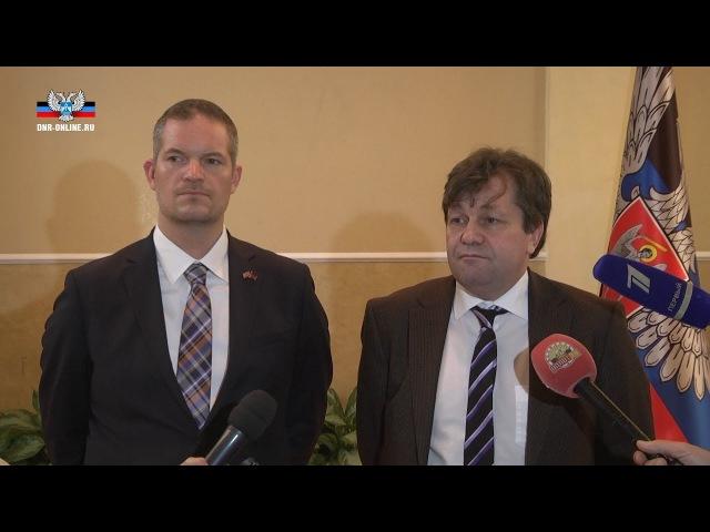 Ввод миротворцев на Донбасс возможен только после прекращения огня – Андреас Маурер