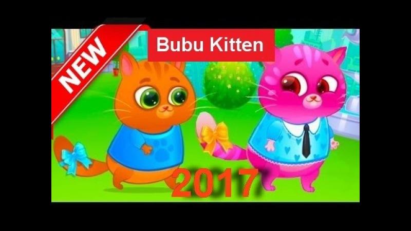 Bubbu Kitten cartoon game Meet Bubu 1 episode 2017