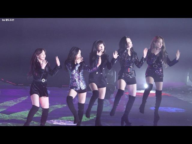 4K 180125 서울가요대상 (Seoul Music Awards) 레드벨벳 (RED VELVET) 빨간맛 (Red Flavor) 직캠 by 팔도조선