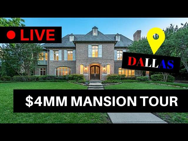 DALLAS LUXURY $4M MANSION TOUR