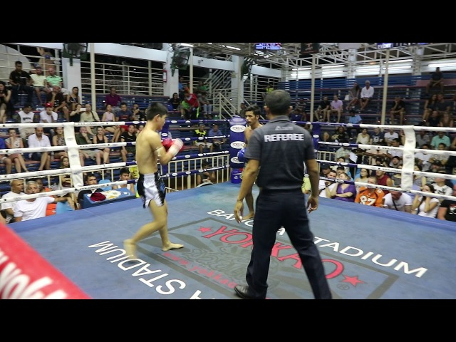 Wung Heng PhuketTopTeam vs Petchnampetch Thailand Muay Thai fight 9 March 2018