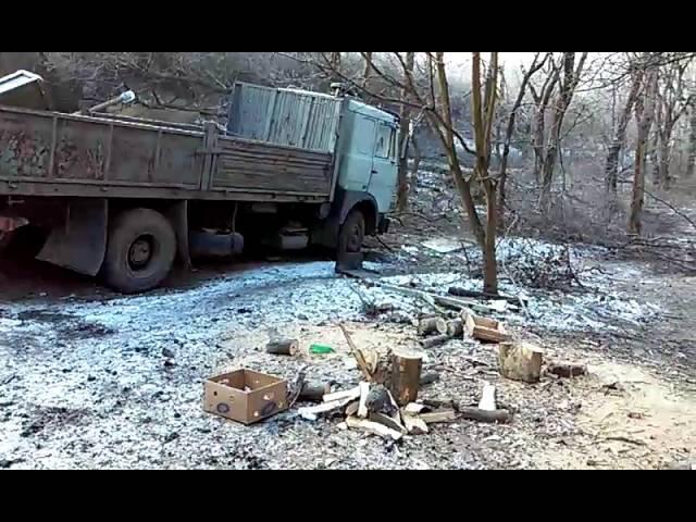 медицинский пункт 40 батальона. Дебальцево. 14 февраля 2015.