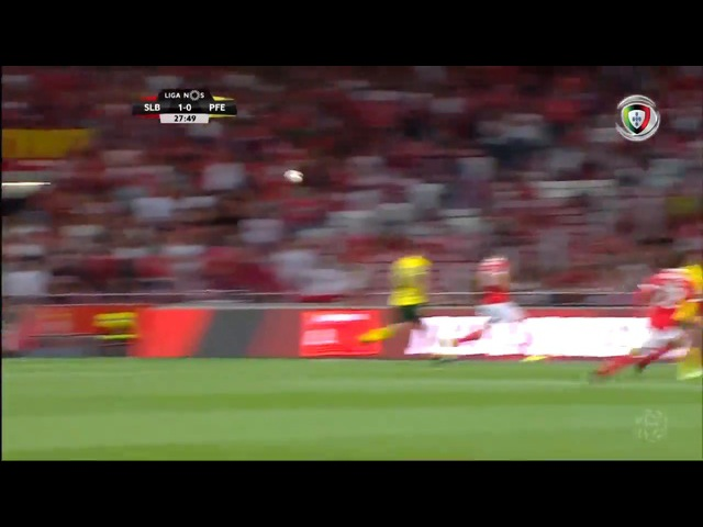Чемпионат Португалии. Бенфика - Пасуш де Феррейра 2:0. 23.09.2017