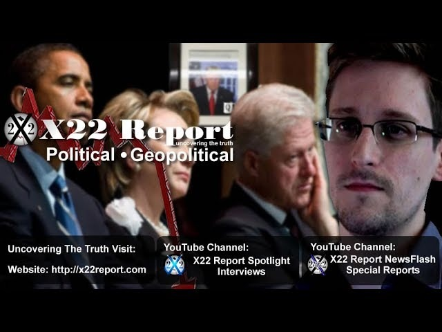 The Deep State Wants Snowden, He Might Have The Evidence To Take Them Down - Episode 1517b
