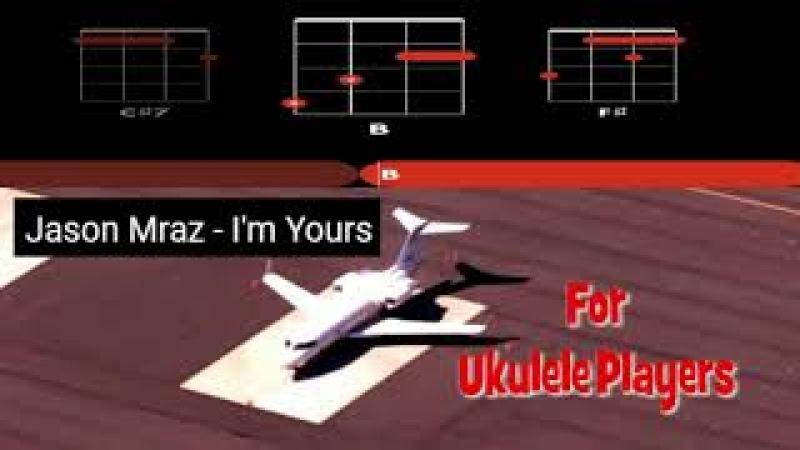 Jason Mraz I'm Yours For Ukulele