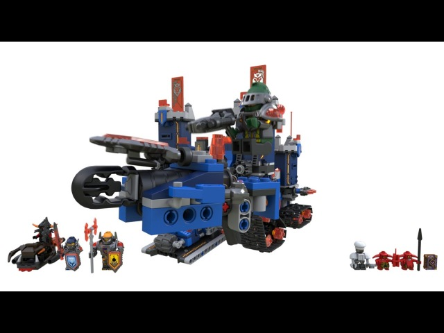 Конструктор LEGO NexoKnights 70317 Фортрекс - мобильная крепость