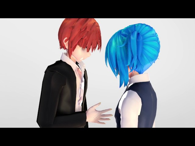 {MMD / Assassination Classroom} Shape Of You {Karma x Nagisa}