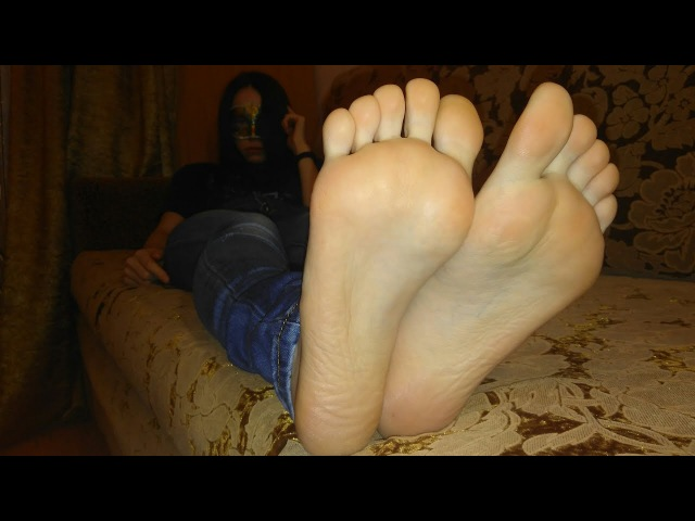 Young Girl Feet Soles and Toes 👣 JAPANESE MASSAGE