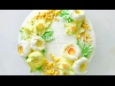 Daffodils and roses Buttercream flower cake - how to make by Olga Zaytseva /CAKE TRENDS 2017 9