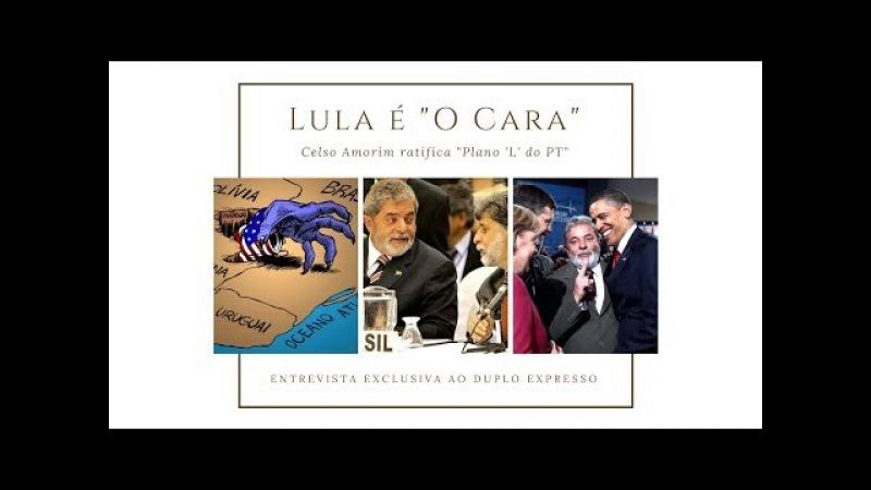 Celso Amorim: só Lula tem capacidade para negociar Referendo Revogatório com estrangeiros