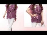 Hermosas blusas moradasblusas violeta