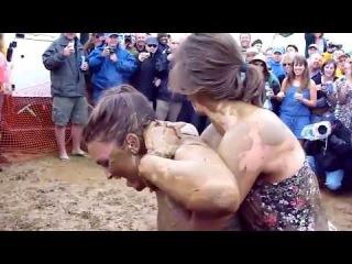 Female Mud Wrestling KY Derby: Bayanlar çamur güreşi, Turkey, (Applications Storm)