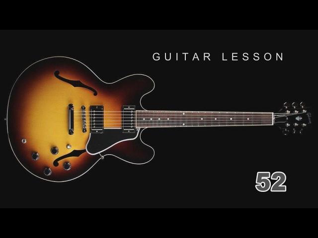 Guitar Lesson - 52 Fingerstyle Ах вы сени мои сени КАРАВАЙ ギターのレッスン Gitarrenunterricht 吉他课 기타 레슨
