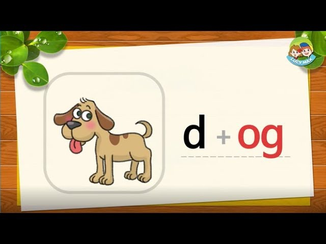 Phonics Step 2 | Short Vowels | Lesson 9 short o (_od, _og, _om)