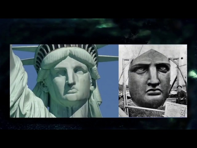 Statue of Liberty Is A MAN Dressed Like A Woman- Transgender Castrated Wife of Baal- They Mock Us