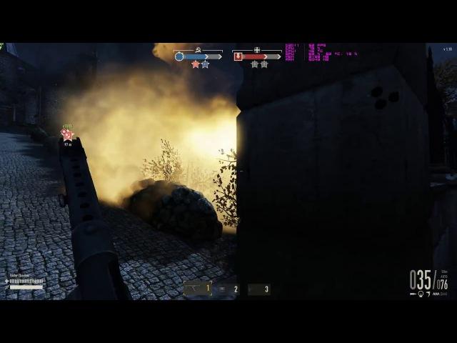 Трудный бой с 1st.Jägers и TX Tieten. На 18 минуте твинк или нуб?   HEROES GENERALS
