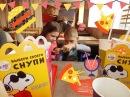 Макдональдс/Хеппи Мил с новой серией игрушек СНУПИ