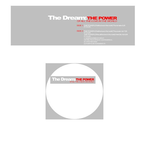 The Dream альбом The Power (Of All The Love In The World)