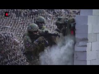 Адовое видео от концерна Калашников. Пишут, что стрельба - боевыми патронами. Огонь!!!