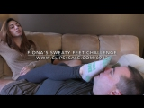 Fiona's Sweaty Feet Challenge - www.clips4sale.com/8983/18633443
