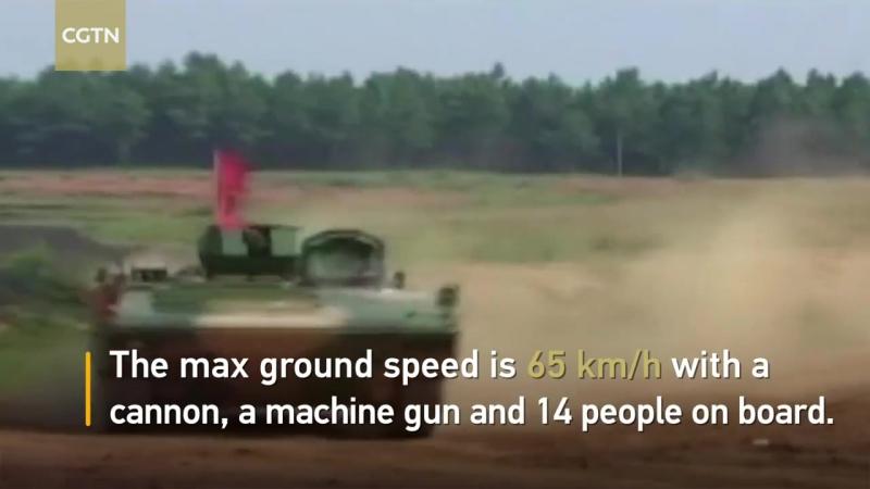 Chinese firm built fastest amphibious assault vehicle