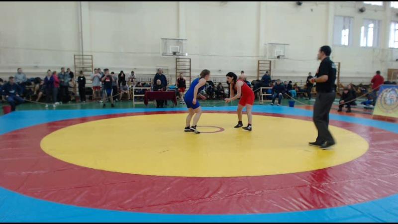 22 23 11 2017 турнир 213г НЮУ 1 4финала 48кг ШИХОБИДОВА ЕГОРИНА